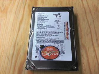 Golden Tee 2005 hard drive