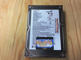 Golden Tee 2006 Complete hard drive