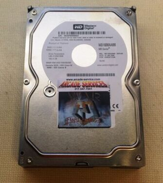 War Final Assault Hard Drive