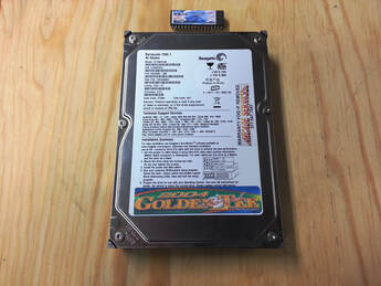 Golden Tee 2004 hard drive